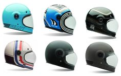 The new BELL Bullitt designs - a vintage full face with ECE standard - ready for shipment by end of december 2014 - preorder now! http://www.24helmets.de/helme/marken/bell