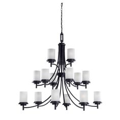Sea Gull Lighting by 1STOPLighting | Winnetka - Fifteen Light Three Tier Chandelier
