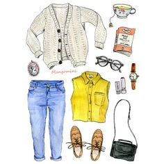 What #elizabethbennet would wear today. One of 5 fictional heroines I drew for #sparknotes :) #mangomini #cindymangomini #illustration #drawing #handdrawn #prideandprejudice #fashiondrawing #fashionillustration