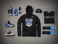 Nike CJ81 Collection Inspired by Megatron