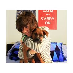 deefizzy and his puppy ❤