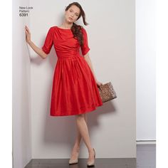 New Look Pattern 6391 Misses' Dresses