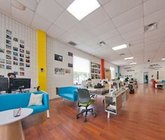 A 1960s Workspace Makeover at Innovation Square