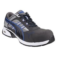Puma Safety Pace Blue Low S1P Composite Toe Mens Safety Trainer Shoes 39a54d822