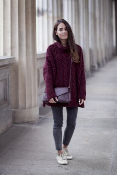 Outfit: Chunky Knitwear Monster