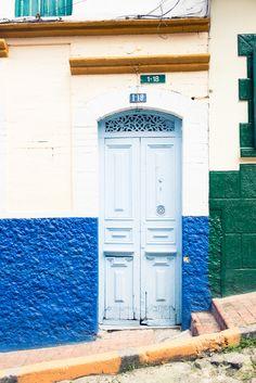 La porte colombienne.