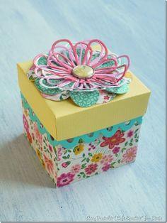 sizzix big shot plus starter kit-Happy Birthday in a Box (1)