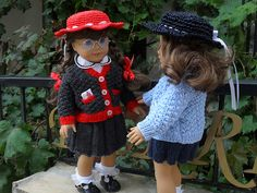 Ravelry: American Girl doll September Stroll pattern by Patricia Renwick