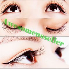 90Pairs Soft Natural Handmade Eye Lash Makeup Charming False Eyelashes #154C #MissDaisy