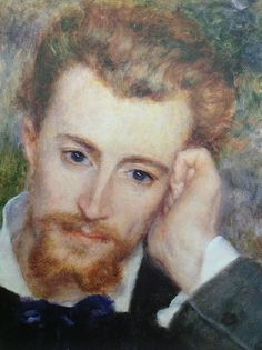 27 May MEMORIAL DAY OBSERVED/ SPRING BANK HOLIDAY (UNITED KINGDOM) Auduste Renoir (French, 1841-1919). Eugene Murer (Hyacinthe-Eugene Meunier, 1841-1906) (Detail), 1877. Oil on Canvas.