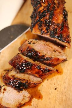 This is by far the best Grilled Pork Tenderloin recipe I have ever tried! I've been making this years and it's always a crowd pleaser!#itisakeeper #grilled #grilling #pork #porktenderloin #easyrecipe #bestrecipe #recipe #recipes #quickrecipe Grilled Pork Tenderloin Marinade, Best Pork Tenderloin Recipe, Cooking Pork Tenderloin, Pork Marinade, Pork Loin On The Grill, Pork Loun, Bbq Pork Loin, Balsamic Marinade, Pork Roast
