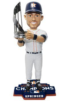 George Springer Houston Astros 2017 MLB World Series Champions MVP Bobblehead