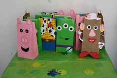 Toy Story favor bags by craftygio on Etsy, $19.00