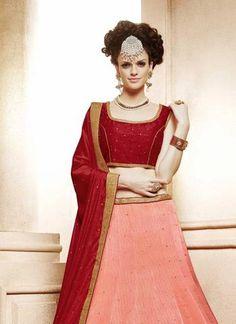Bridal and Engagement Lehenga Choli Lehenga Suit, Bollywood Lehenga, Lengha Choli, Lehenga Choli Online, Lehenga Blouse, Silk Dupatta, Indian Dresses, Indian Outfits, Indian Bridal Lehenga