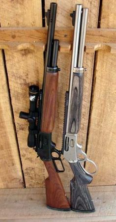 Marlin 1895 Guide Gun and 1895 SBL .45-70