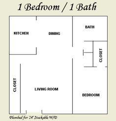 Amusing House Plans Under 650 Square Feet 11 Single Bedroom India On Modern Decor Ideas Small Apartment Plans Small House Plans How To Plan