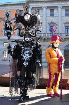 Black and silver splendor ~ Annecy, carnaval 2016 ~ Agnès photos etc