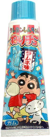 Crayon Shinchan Tube Gum Ramune Flavor $2.80 http://thingsfromjapan.net/crayon-shinchan-tube-gum-ramune-flavor/ #crayon shinchan #tube gum #Japanese gum #Japanese snack