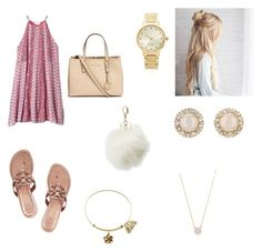 """""""Untitled #13"""" by katelinbullock on Polyvore featuring Kate Spade, Adina Reyter, Rebecca Taylor, Michael Kors, Charlotte Russe and Tory Burch"""