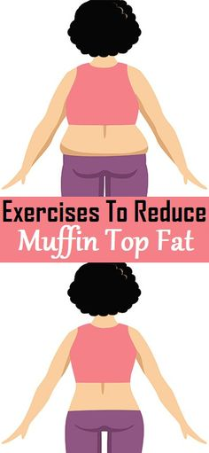 Exercises to Reduce Muffin Top Fat..