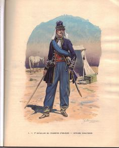 French; 8th Battalion Chasseurs d'Orleans, Subaltern, 1830 by Benigni