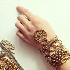 Monet bracelets vintage