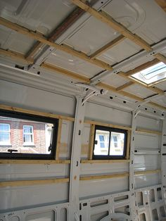 insulate my van « Singletrack Forum - great ideas on wooden frame and insulation