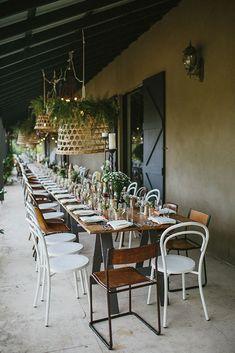 CANDICE   JAMES Sydney New South Wales, Basket Lighting, California Wedding, Celebrity Weddings, Boho Wedding, Tablescapes, Real Weddings, Table Settings, Wedding Decorations
