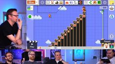 Super Mario Maker Looks Hella Fun! Watch the guys at Giant Bomb make one of the most fun looking and insane level in Super Mario Maker you'll ever see in this Unprofessional Fridays episode.  - http://www.mustwatchnow.com/super-mario-maker-looks-hella-fun/