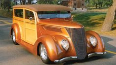 37 Ford Woody