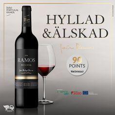 Ramos Reserva 2018 frånVinkompassen Aragon, Red Wine, Portugal, Alcoholic Drinks, Bottle, Glass, Wine, Drinkware, Alcoholic Beverages