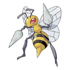 "Copperhead's Pokémon #1 Beedrill; Specialized moves, ""Twineedle & Poison Sting"""