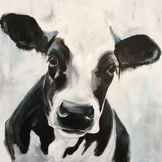264 Likes, 17 Comments – Kirsten Dill ( - Farm House Decor Animal Paintings, Animal Drawings, Art Paintings, Paintings Of Cows, Cow Paintings On Canvas, Modern Paintings, Farm Art, Cute Cows, Cow Art