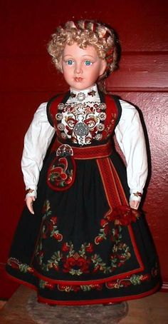 Doll in national costume