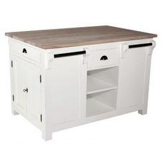 Så fin och praktisk köksö med många lådor. Perfekta möbeln till köket. #Köksö #Kök #Inredning #Möbler