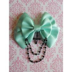 † Pastel Goth † ❤ liked on Polyvore featuring accessories, hair accessories, beaded hair accessories, gothic hair clips, hair clip accessories, barrette hair clips and goth hair accessories
