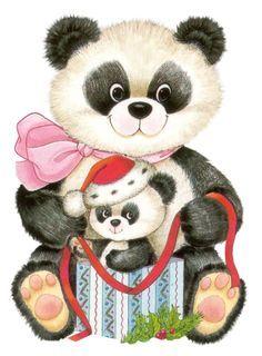 Panda dessin assis petit panda mignon avec du bambou vert - Dessin bonhomme assis ...