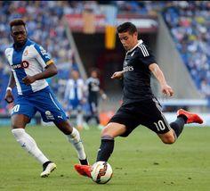 In action Colombian crack James Rodriguez. Vs Espanyol 17.5.15