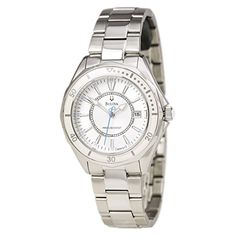 Bulova Women's 96M123 WINTER PARK Classic round bracelet Watch ** To view further for this item, visit the image link.
