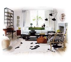 Create Visual Flow   Three easy-to-apply tricks for creating a beautiful space.