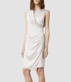 Womens Arina Dress (Indigo) - product_image_alt_text_1