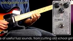 SolidGoldFX If 6 Was 9 Fuzz BC108CS Silver