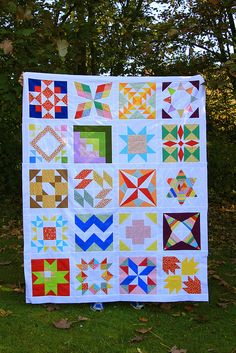 summer sampler quilt || crafting with love