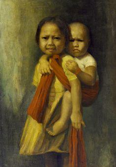 Dullah - Menggendong Anak