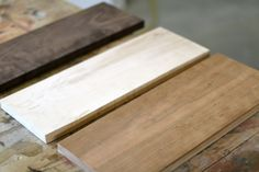 Learn how to Make a Butcher Block Cutting Board with DIY Pete. We made a cutting board out of select hardwoods: walnut, cherry, and maple. The final dimension is 12