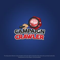 Create an exciting and fun table top game search engine product logo for Campaign Crawler. by APP Designs