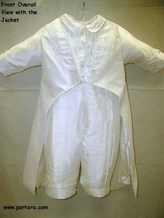 Christening+Outfits | Adorable White Silk Prince Baptism Outfit+ http://www.adorable-kids.com/Shipping_Fees_Delivery_Canada_USA_s/265.htm