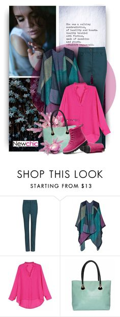 """""""Enjoy the Sunday - Newchic Fashion"""" by christiana40 ❤ liked on Polyvore featuring M&S Collection"""