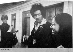 Karin Ley with Jimi