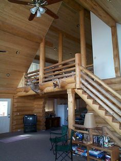 Custom Log Homes Interior Design